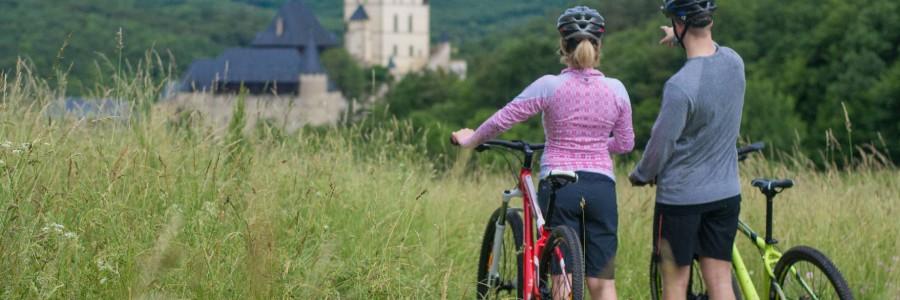 Karlstejn Castle Scenic Bike Tour