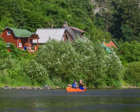 Easy Canoe Mission to Sazava River